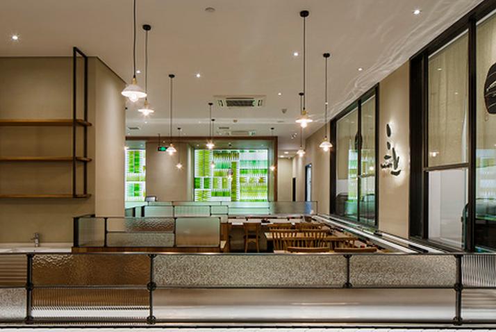 三上日料杭州百大店-观堂室内设计有限公司-上海装潢网