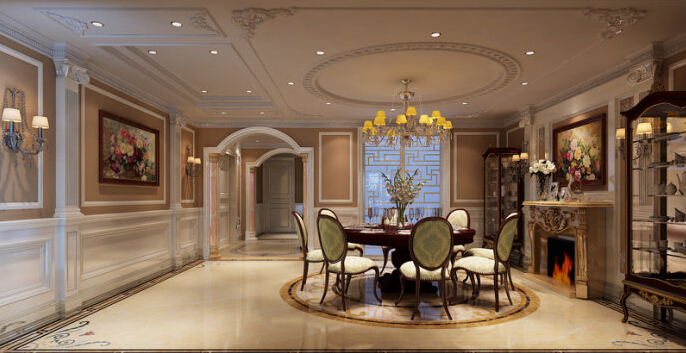 杨浦区法式风格别墅装修设计-上海高端别墅施工公司