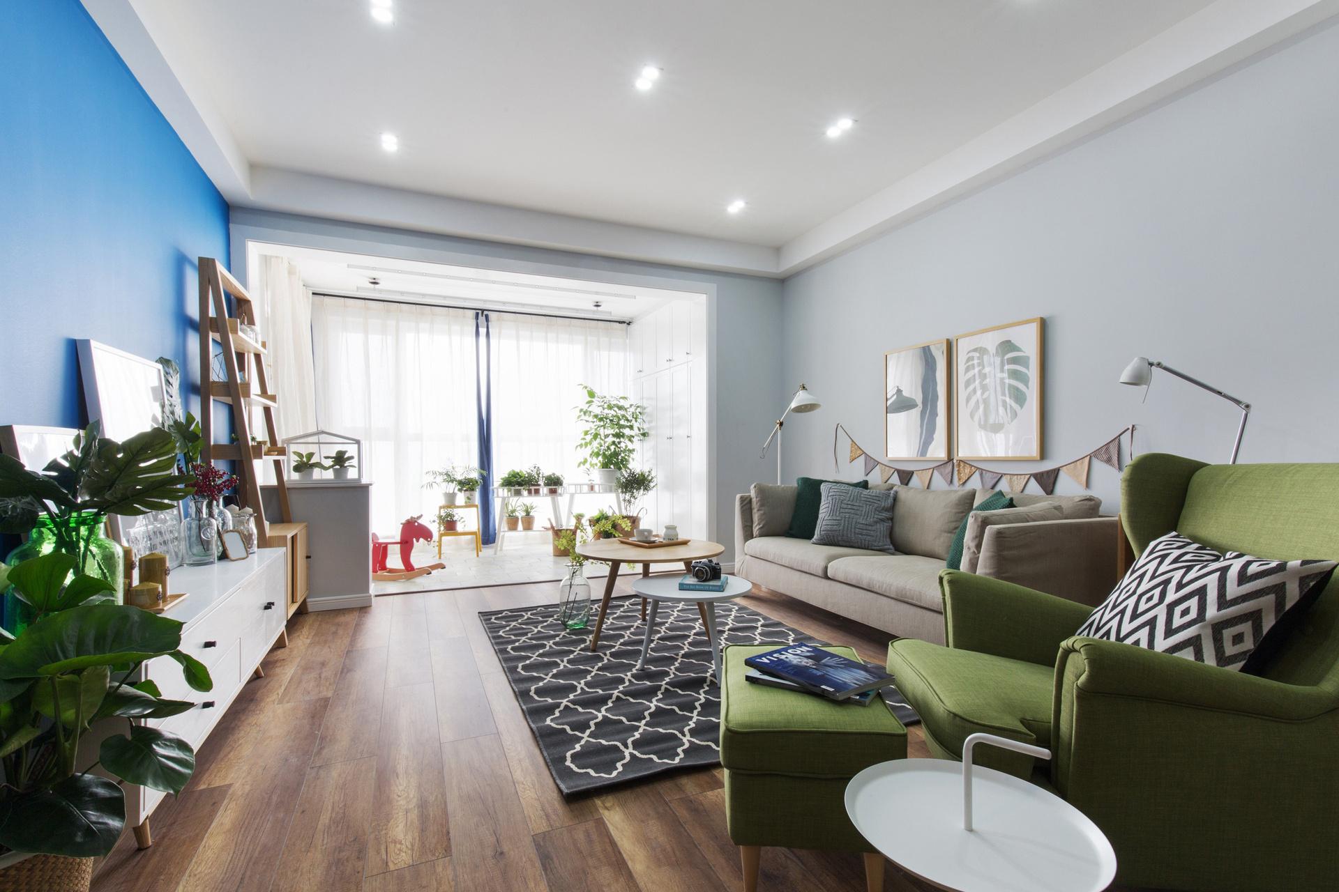 北欧原木设计公寓-上海知惠建筑装饰工程有限公司