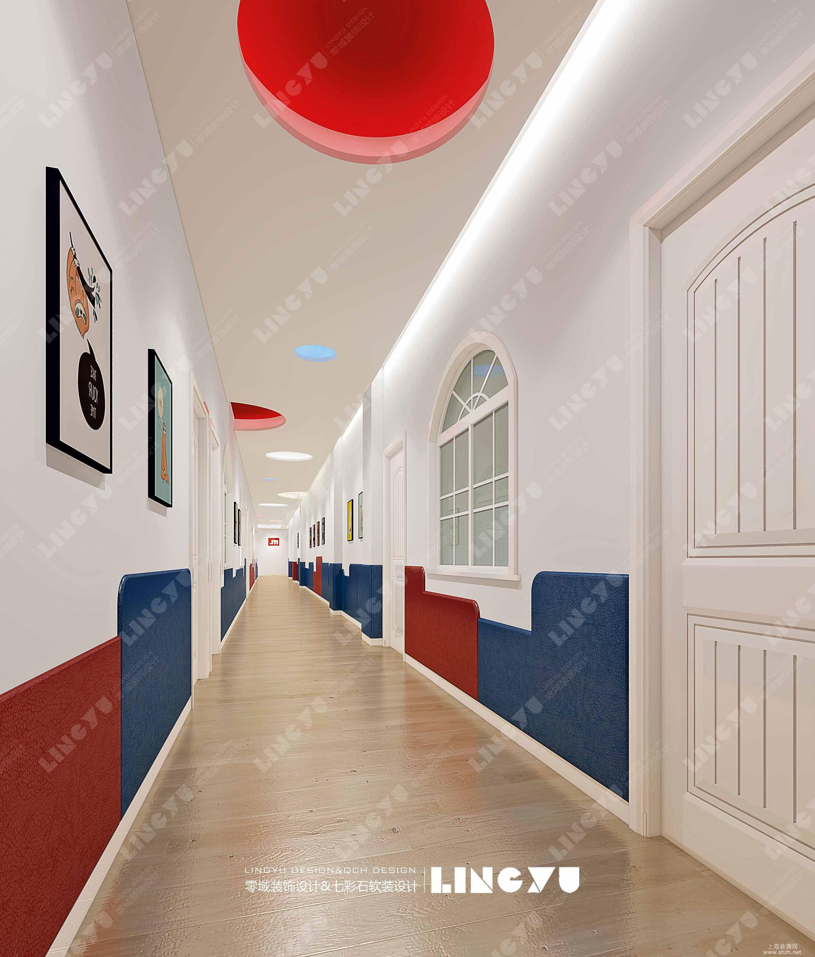 工装:蒙氏宝贝早教中心-上海零域建筑装饰设计有限