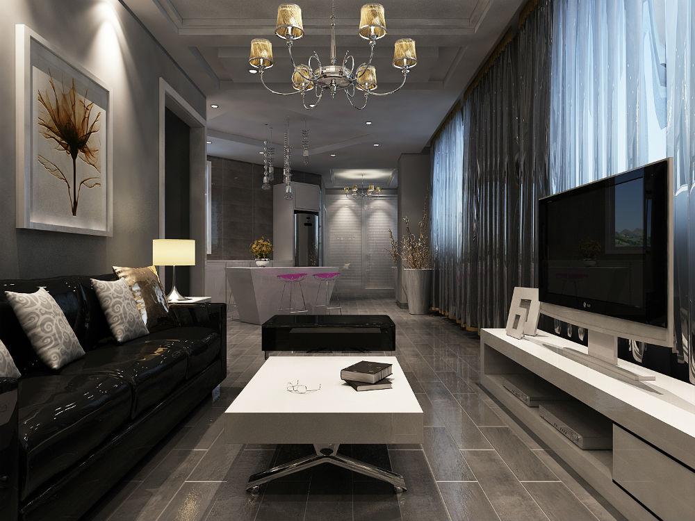 G07.现代简约风格一室两厅