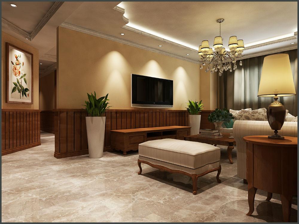 E05.美式田园风格两室两厅