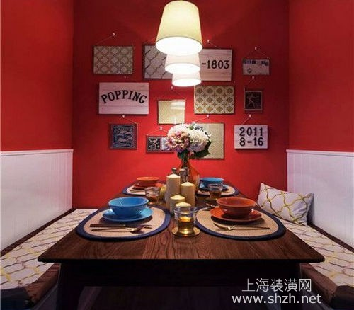 上海装修报价分享|小户型餐厅装修报价