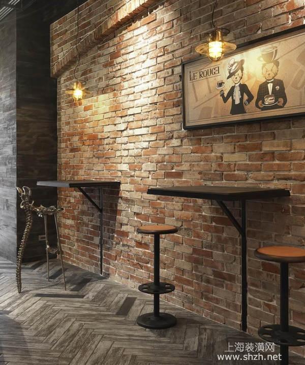 英伦复古工业风格餐厅装修设计,时尚前卫有特色