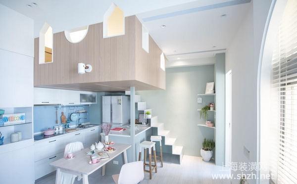 60平米loft戶型裝修案例:小戶型也可以住的很舒適