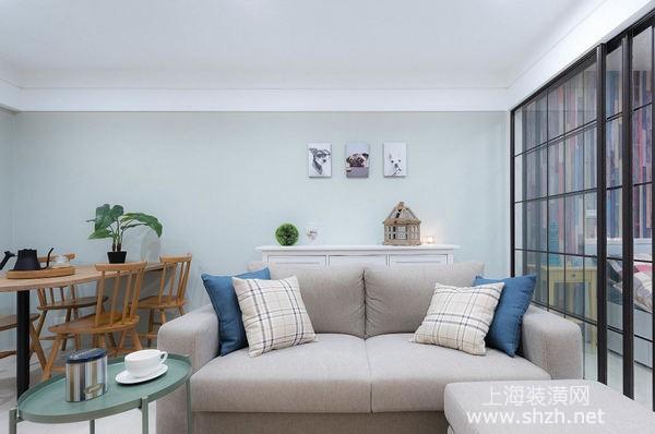 60平米旧房翻新装修案例:三十年老房变身清新美宅