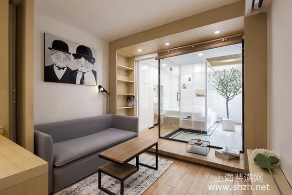 上海30平米小公寓装修设计:打造宠物新乐园,与51只猫共居