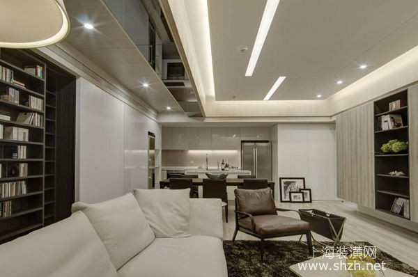 80平米两室一厅装修设计案例:小户型也能拥有大客厅