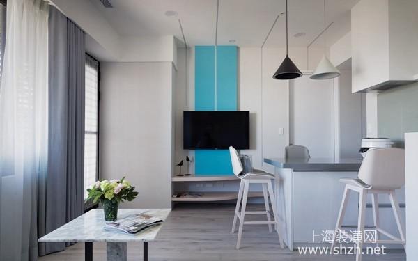 60平米北欧风格度假宅装修设计:享受惬意慢生活步调