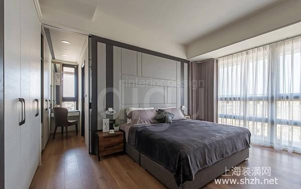 四房两厅现代风新房装修设计案例:幸福日常,优雅气质宅