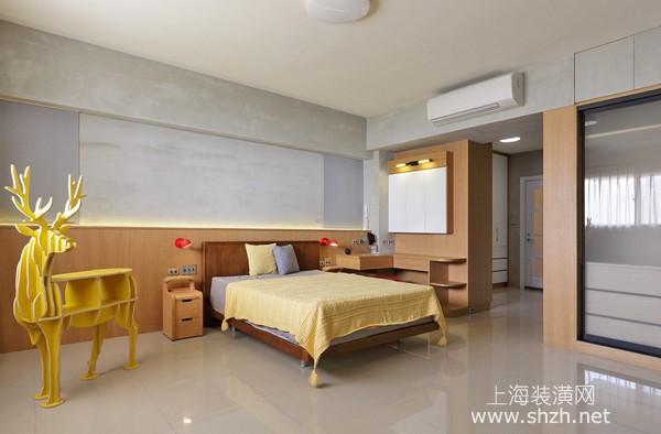 90平米日式风格婚房装修设计案例:清新原木演绎自然生活