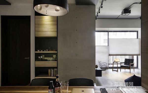 三房两厅工业风格装修设计案例:混搭北欧元素打造梦想空间