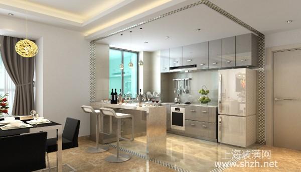 开放式厨房如何装修才能好看又实用,空间规划是重点