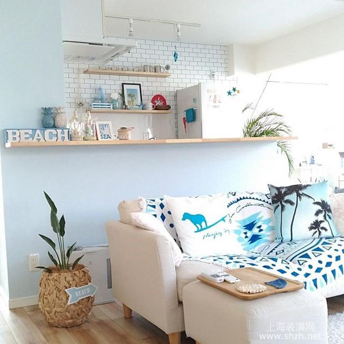 送给爱旅游的你,四个秘诀帮你将家居装饰成夏威夷风格