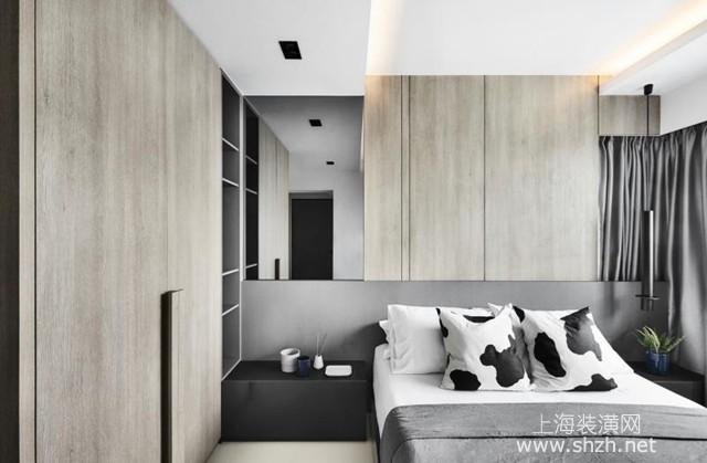 用黑灰色调打造深邃个性有层次感的家居设计