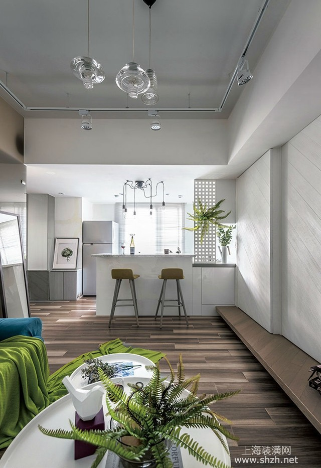 北欧风格小户型旧房翻新案例:宽适且弹性有余的生活风格