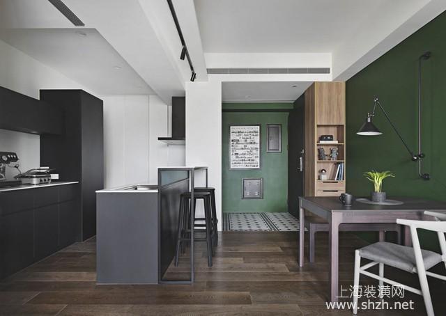 现代风格loft个性宅装修设计:深邃井然的视野层次