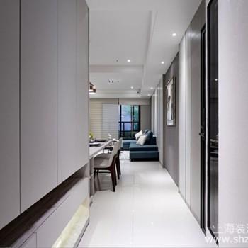 137平米的现代风格设计,开放式的空间设计让空间更宽敞
