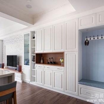 超耐磨地板、双面柜隔间收纳设计,温馨惬意乡村风居家空间