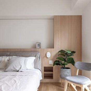 颜值高又省钱的卧室布置,无印风格设计样式成为首选