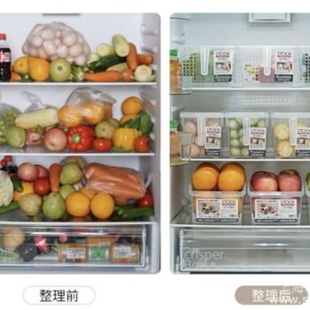 冰箱收纳有秘诀,提高空间利用率购买再多食物也能装