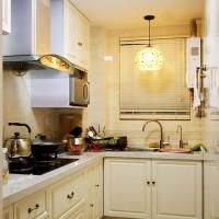 暖色厨房橱柜
