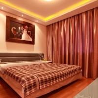 中式古典豪华卧室窗帘