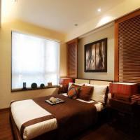 中式中户型卧室床