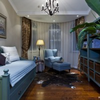 格拉斯小镇私人别墅设计沙发