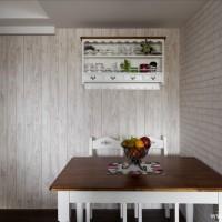 古典优雅复合型乡村家之餐厅