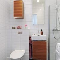 96平北欧简约风格公寓设计卫生间
