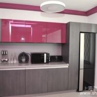 现代小户型公寓厨房一角设计案例欣赏