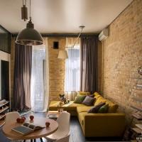 基辅创意小公寓设计飘窗