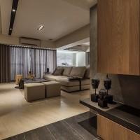 自然舒适客厅效果图
