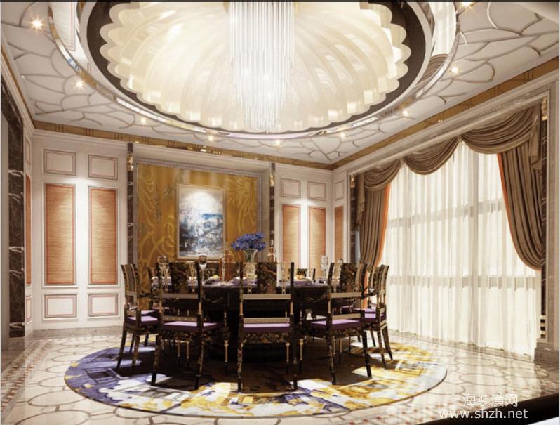 世茂紫帽山350户型别墅餐厅.png